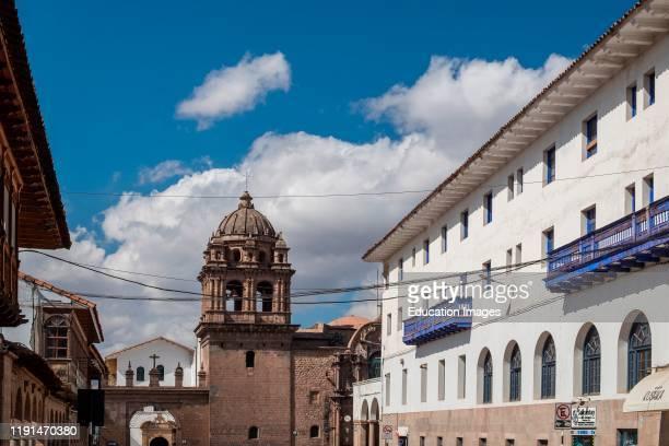 Basilica Menor De La Merced. Cusco. Peru.