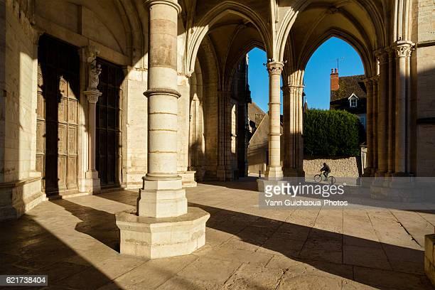 Basilica Notre Dame,Beaune, Cote d Or, Burgundy, France