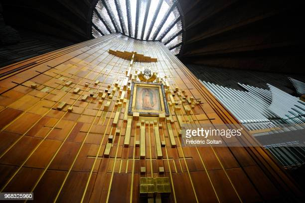 Basilica of Our Lady of Guadalupe Statue of former Polish Pope John Paul II at the Basilica of Our Lady of Guadalupe It is the most important place...