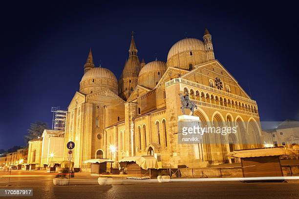 basilica of saint anthony in padua - basilica stock pictures, royalty-free photos & images