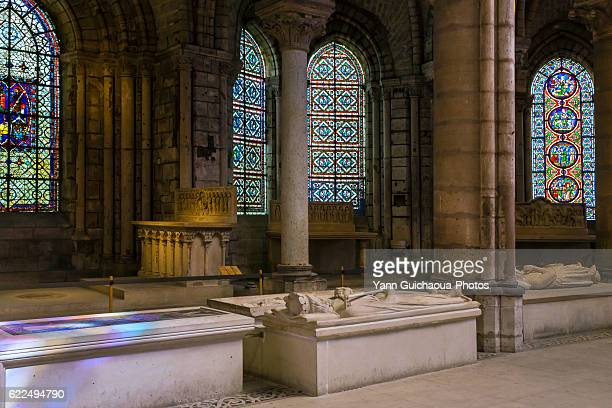 basilica of saint denis, saint denis, france - basilica stock pictures, royalty-free photos & images