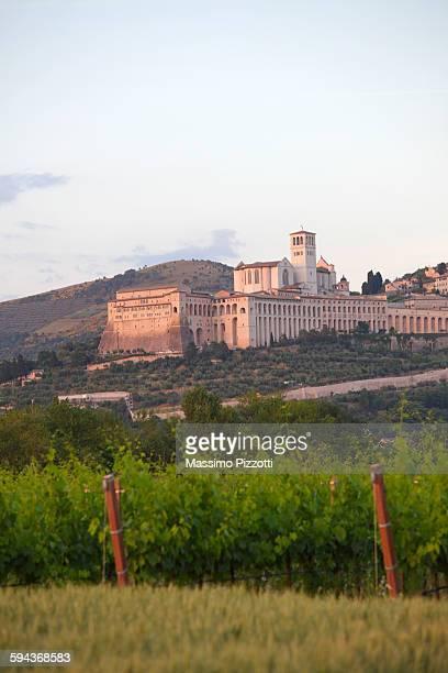 basilica of san francesco d'assisi - massimo pizzotti foto e immagini stock