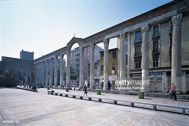 Basilica of San Lorenzo by Meda Giuseppe Bassi Martino Rinaldi Tolomeo 364 402 4th Century