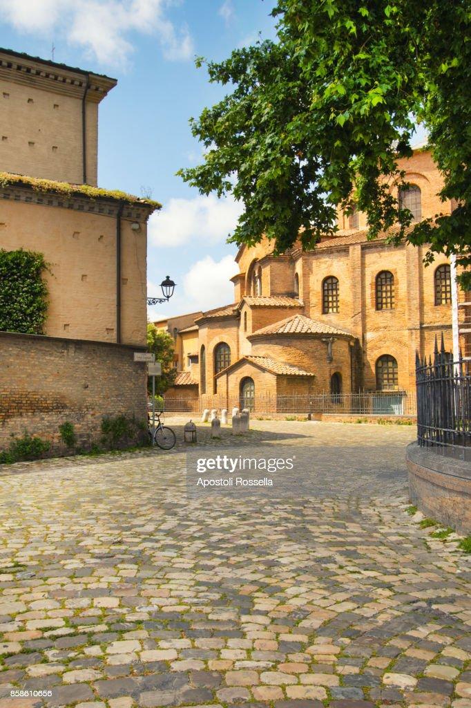 Basilica of San Vital, Ravenna, Emilia Romagna, Italy : Stock-Foto