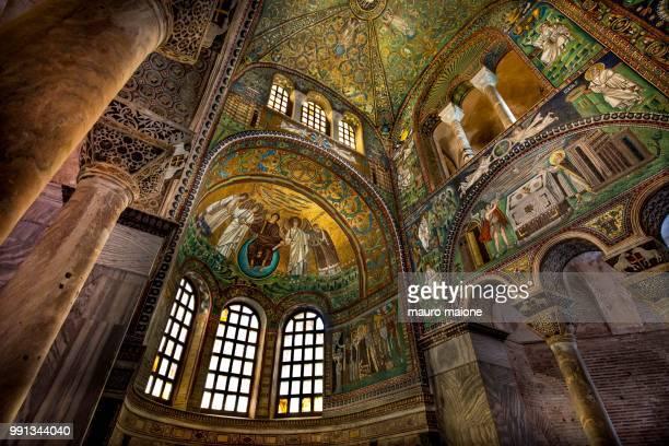 basilica of san vitale - basilica of san vitale ストックフォトと画像