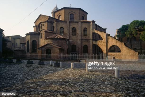 Basilica of San Vitale Ravenna Emilia Romagna Italy 6th century