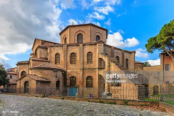 大聖堂サンヴィタール、ラヴェンナ - ラヴェンナ ストックフォトと画像