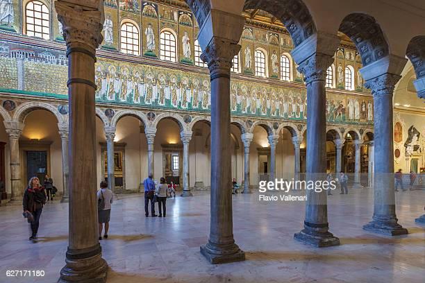 大聖堂が輝く'apollinare ラヴェンナ「ヌーヴォ」 - ラヴェンナ ストックフォトと画像