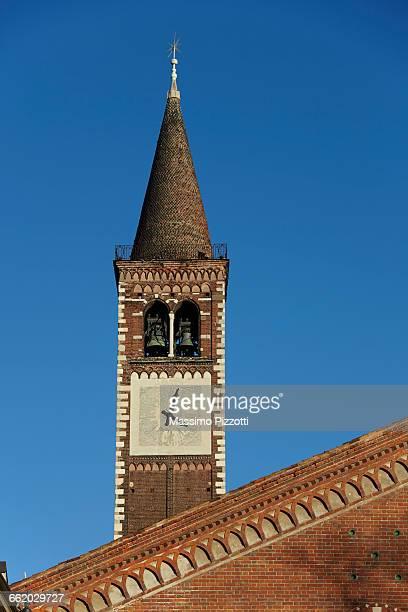basilica of sant'eustorgio in milan - massimo pizzotti foto e immagini stock