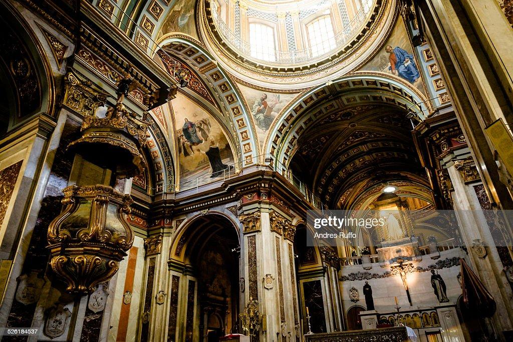 Basilica of Santo Domingo, in Cordoba, Argentina : Stock-Foto