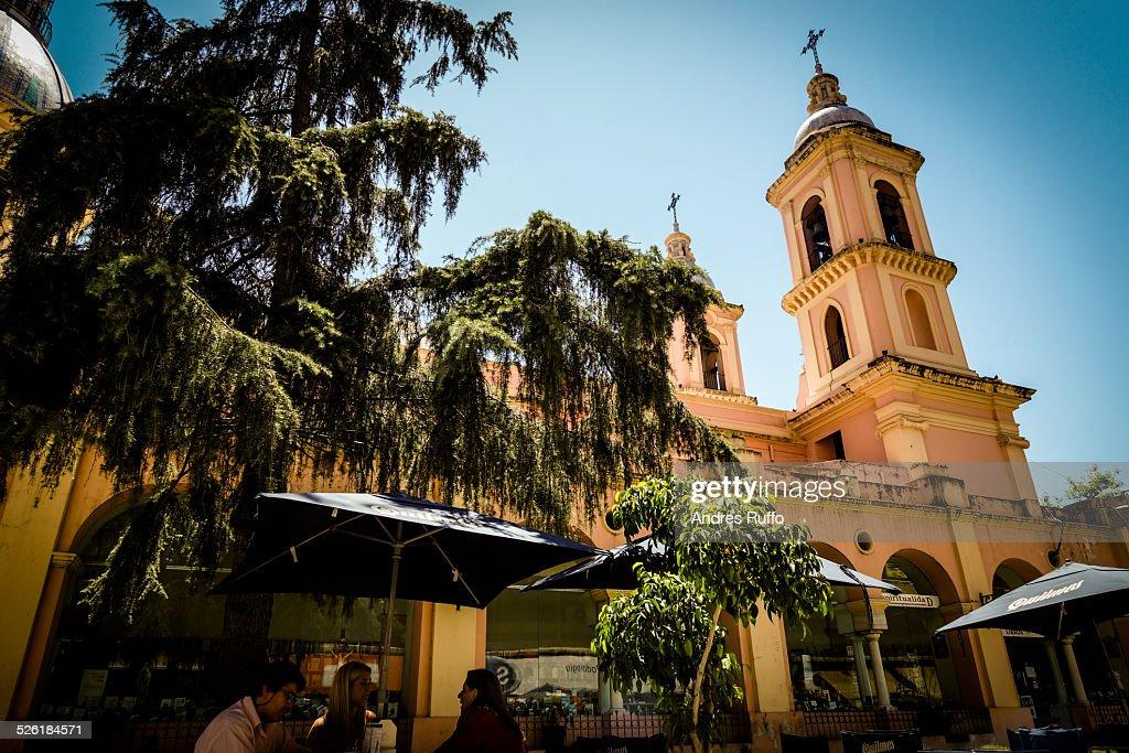 Basilica of Santo Domingo, in Cordoba, Argentina : Stock Photo