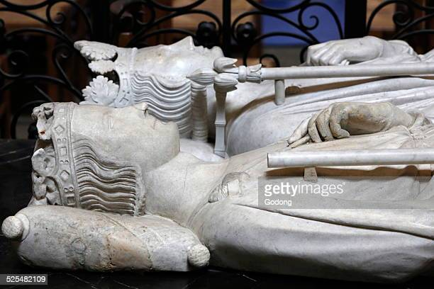 Basilica of St Denis Gisant of Philip III the bold 12451285 King of France from 1270 to 1285