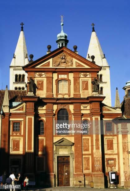 Basilica of St George Prague Czech Republic Photograph Around 1999
