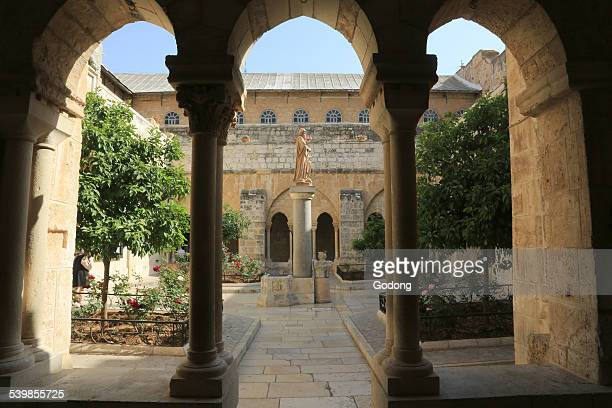 basilica of the nativity - historical palestine stock pictures, royalty-free photos & images