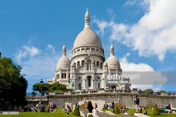 Basilica of the Sacré Coeur in Paris