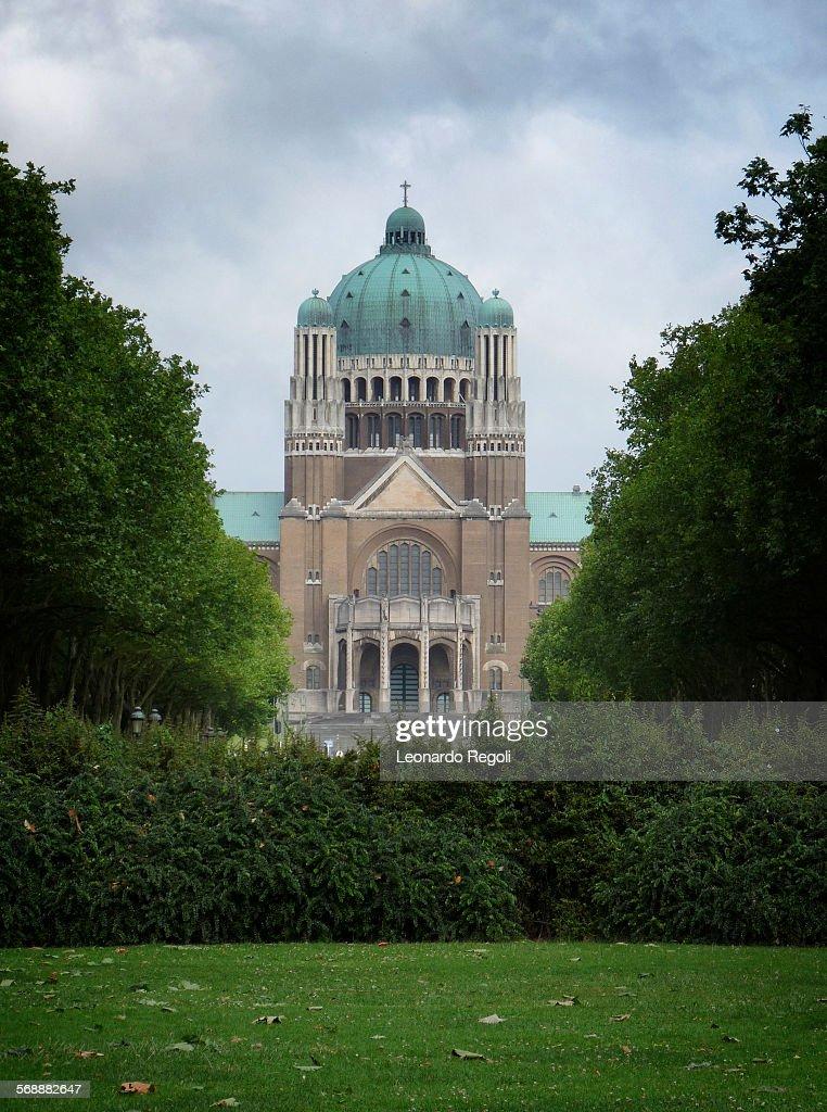 Basilica of the Sacred Heart : Stock Photo