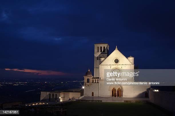 basilica - perugia foto e immagini stock