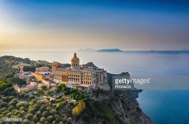 Basilica Sanctuary of Maria Santissima or of the Madonna Nera Patti, Messina, Sicily, Italy, Europe.
