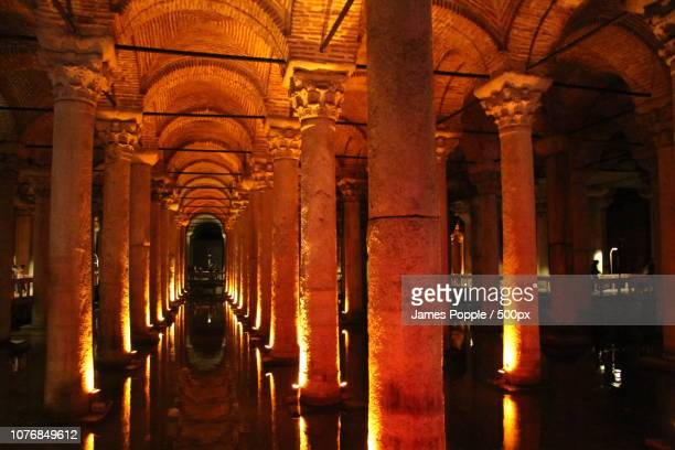 basilica-cistern-2013c - james popple stock pictures, royalty-free photos & images