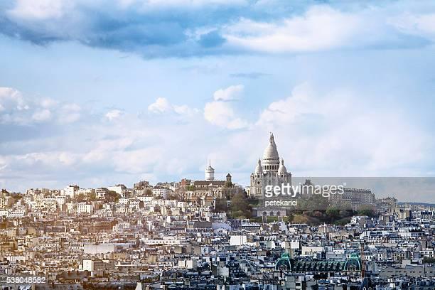Basilique du Sacré-coeur à Paris, France