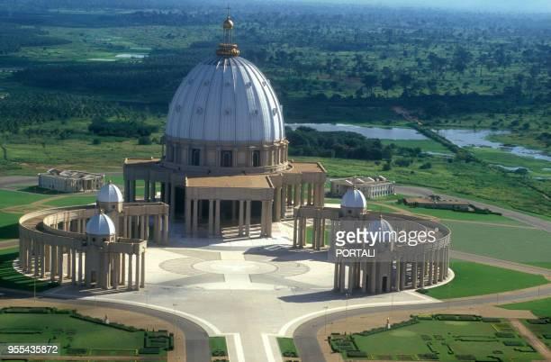 Basilique NotreDame de la Paix à Yamoussoukro en Côte d'Ivoire