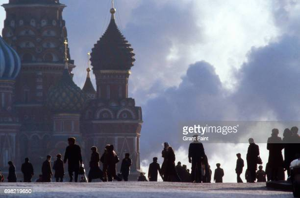 ST Basil's Red Square . Moscow.