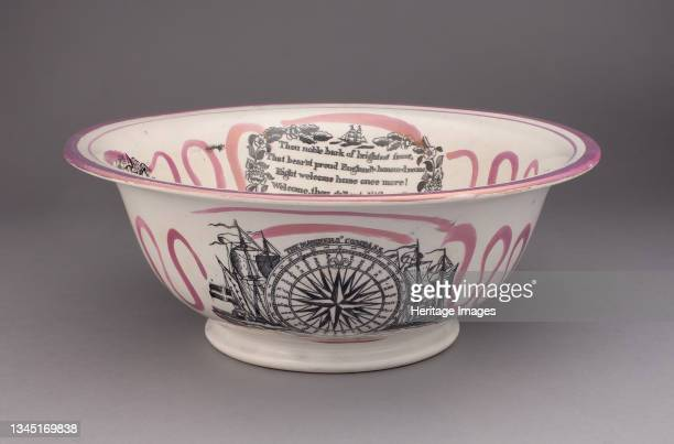 Basin, Staffordshire, 1820/50. Artist Staffordshire Potteries.