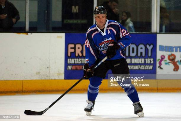 Basingstoke's Greg Chambers representing the Southern All Stars during the Elite League All Star match at the Coventry Skydome, Coventry