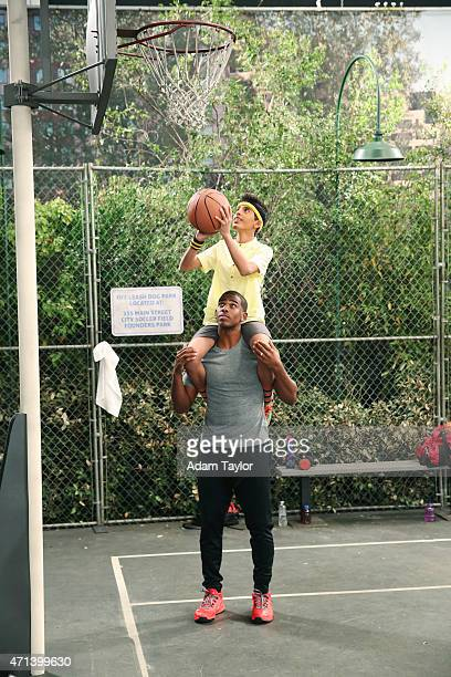 JESSIE Basket Cases Eager to play in Luke's basketball game Ravi unexpectedly runs into LA Clippers star Chris Paul who he enlists to coach him...
