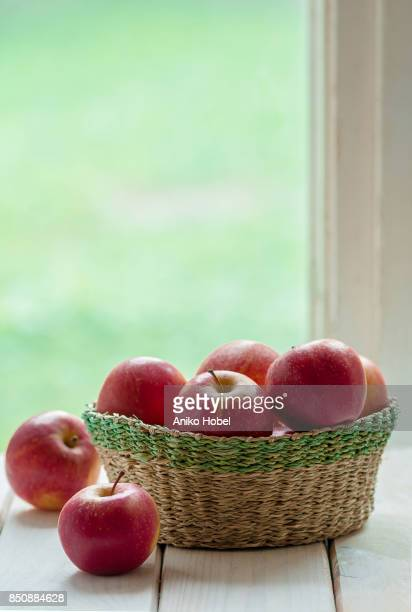 Basket full of apples