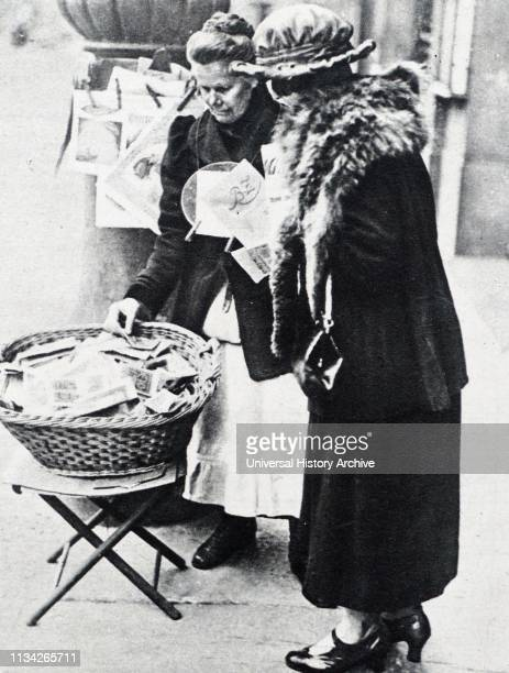 Basket full of banknotes during hyperinflation era in Weimar Germany 1923 By November 1922 the value in gold of money in circulation had fallen from...