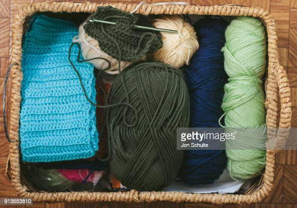 A Basket full of yarn
