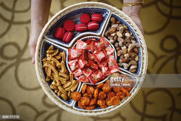 Basket of Chinese treats