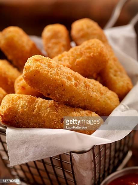Basket of Mozzarella Cheese Sticks