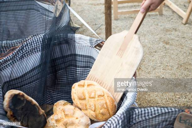 basket of warm bread