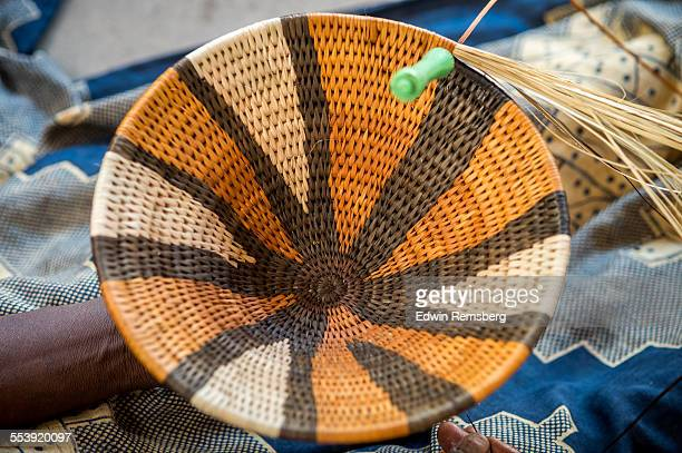 Basket weaving