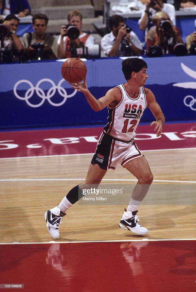 4f49e31797e0 USA John Stockton in action vs Croatia during Men s Gold Medal Game ...
