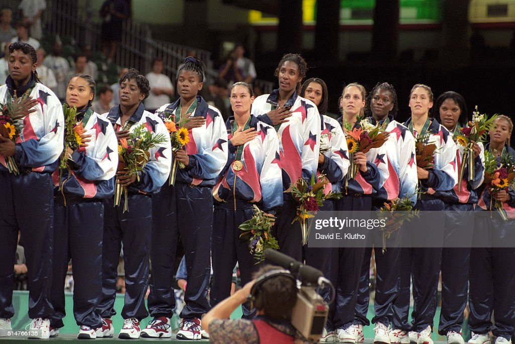 Lacey Bolton >> USA Teresa Edwards, Dawn Staley, Ruthie Bolton, Sheryl Swoopes,... News Photo | Getty Images