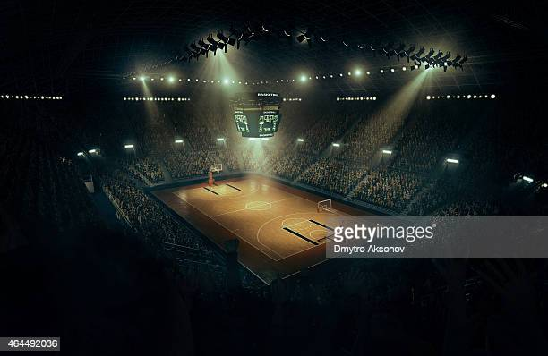 basketball arena - scoreboard stock pictures, royalty-free photos & images