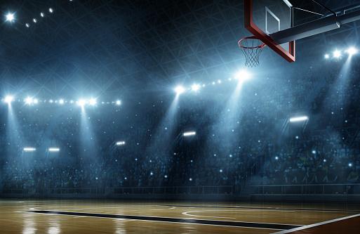 Basketball arena 464492052