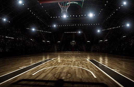 Basketball arena 466336640