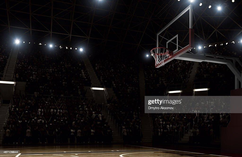 Basketball arena : Stock Photo