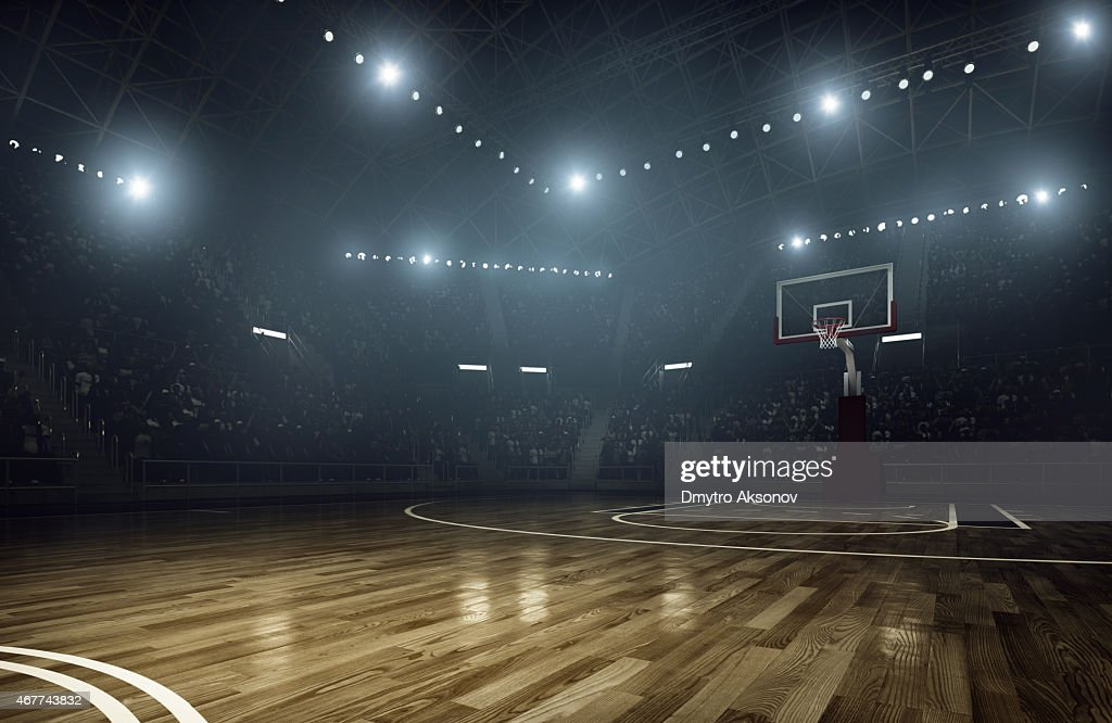 Basketball arena : Stock Photo