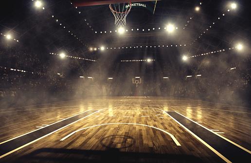 Basketball arena 468196542