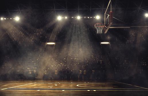 Basketball arena 468196544