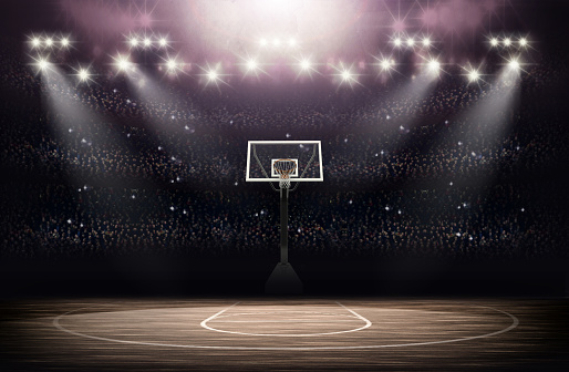 Basketball arena 515977086