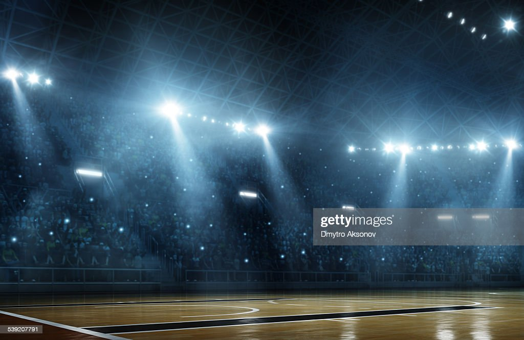 Basketball arena : Foto de stock