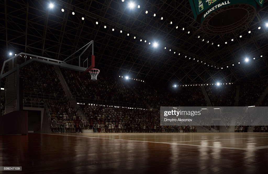 Basketball arena : Foto de stock