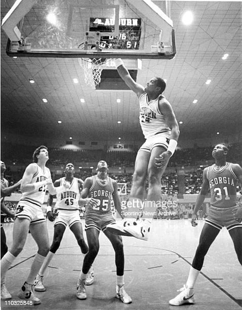 Basketball Auburn center Charles Barkley