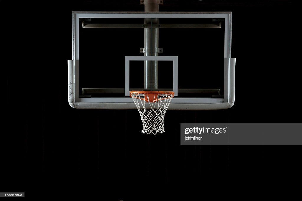Basketball Backboard and Hoop : Stock Photo